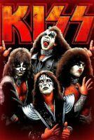 "KISS Alive STICKER Gene Simmons Paul Stanley  4"" x 6"" BIG Size print UNFRAMED"