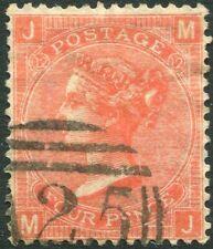 More details for 1865-67 4d vermilion plate 12 used in malta sg 93 fine used v86218