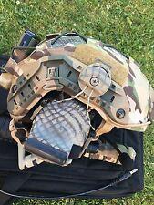 Tactical helmet FMA MARITIME High cut HELMET Go Fast HELMET OPSCORE + Comtacs