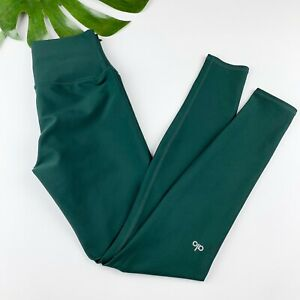Alo Yoga Leggings Forrest Green Women's Size M Medium Workout Athleisure