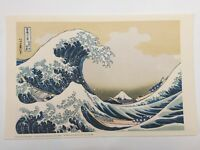 "The Metropolitan Museum of Art Japanese Print, Katsushika Hokusai ""A Great Wave"