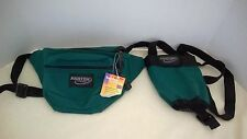 FANNY PACK ASHTEN PRODUCTS 2 PIECE GREEN  W/ADJUSTABLE WAIST AND BOTTLE HOLDER