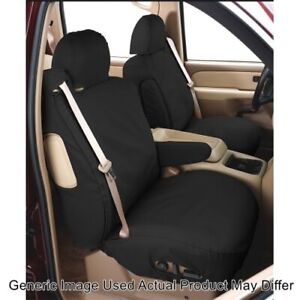 Covercraft SS3441PCCH Polycotton SeatSaver Front Row Seat Covers - Charcoal NEW
