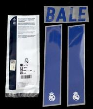 Real Madrid Bale 11 2016/17 Football Shirt Name/Number set Home La liga