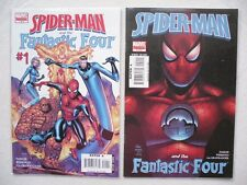 SPIDER-MAN AND THE FANTASTIC FOUR N° 1 A 4 RUN COMPLET VO NEUF NEAR MINT / MINT