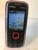 Nokia XpressMusic 5130c - Black / Red (Unlocked) Smartphone Mobile