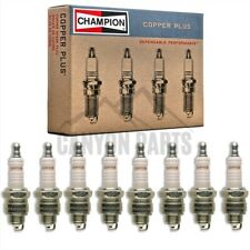 New 8pc Champion Copper Spark Plugs for 1969-1974 Oldsmobile Cutlass 5.7L V8