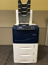 Xerox Phaser 4600 Laser Printer w/4 Bin Mailer and additional paper trays #1