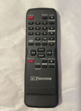 Genuine Emerson TV VCR Video Player Combo Remote Control N9278UD Black