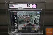 Clock Tower (PlayStation 1, PS1 1997) Y-FOLD SEALED! - VGA 85! - ULTRA RARE!