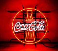 Cola Neon Sign Pub Night Club Beverage Store Man Cave Artwork Canteen Patio