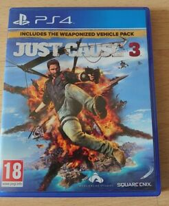 Just Cause 3 includes weaponized vehicle pack for PS4 Pre-owned
