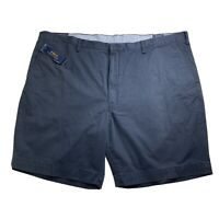 Polo Ralph Lauren Mens Stretch Classic Fit Shorts Size 50 Navy Embroidered Pony