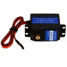 15KG Metal Gear High Torque Wide Angle Digital Waterproof Servo for RC Robot New