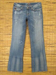 Miss Me Jeans JP4275 W27xL31 Low Rise Slim Fit Bootcut Leg Light Highland 02