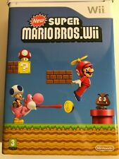 New Super Mario Bros Wii Exclusive Tin Edition Nintendo Wii - Brand New, Sealed