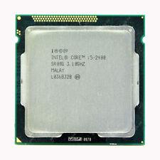 Intel Core i5-2400 3.1 GHz Quad Core Processor CPU SR00Q Socket LGA1155 TESTED
