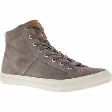 Superdry Thunder Grey Men's Suede High Top Trainers Size UK 9