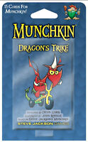 Munchkin Dragon's Trike Expansion Card Game Adds 15 Cards Steve Jackson SJG4251