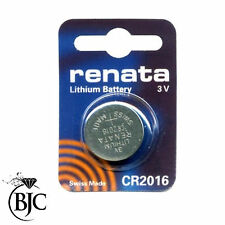 Lithium-Based CR2016 Watch Batteries