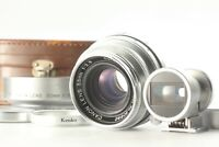 【MINT+ w/Hood Case】 Canon 35mm F2.8 L39 LTM Lens 35mm Viewfinder From Japan #996