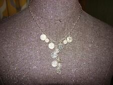 """.925 Sterling Silver COIN necklace 18"""""""