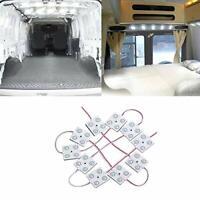 Justech Interior Car Lights 12V LED Strip Lights Vehicle Dome Ceiling Lighting