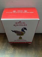 Hallmark 2016 Six Geese A Laying Twelve Days of Christmas Series
