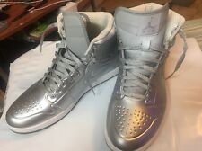 Nike Air Jordan Anodized Metalic Silver sz 11 414823-001