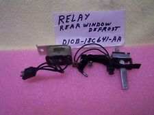 1968-71 LINCOLN MARK III REAR WINDOW ELECTRIC DEFROST SWITCH WITH LIGHT -RELAY