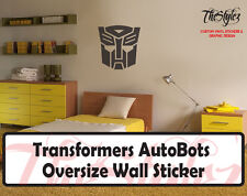 Transformers -Autobots Wall Vinyl Stickers