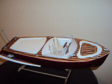 DIGITAL PLANS ONLY Superb Italian Mincio Runabout RC Model Boat