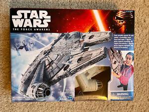 New 2015 Disney Hasbro Star Wars The Force Awakens MILLENNIUM FALCON
