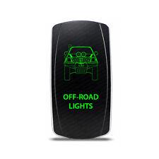 Rocker Switch Toyota Hilux Off-Road Lights Symbol - Green LED