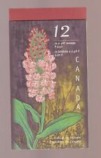Canada 1999 Orchids  MNH Booklet #BK219 $16.