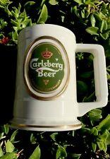 Vintage Carlsberg Beer 1988 Franklin Mint Mug. New Free Priority Shipping ~