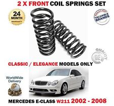 für Mercedes W211 E200 E220 E270 CDI Modelle 2002-2008 2 x VORNE FEDERN SET