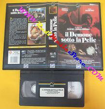 VHS film IL DEMONE SOTTO LA PELLE David Cronenberg Steele PRISMA (F127) no dvd