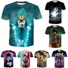 3D T-Shirt Men Women Anime Dragon Ball Z print Casual Short Sleeve Tops S-5XL