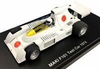 Hiroshima planning MAKI F101 test car Sho Hayami Arai ShoAkira with Figure