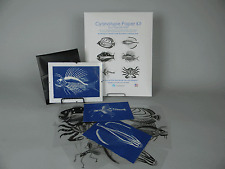 5 x 7 Cyanotype Paper Kit (white) Fanciful Fish