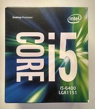 Intel Core i5 6400 2.7GHz 6M Cache Quad-Core CPU Processor SR2L7 LGA1151 BOX FAN