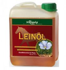 St. Hippolyt Leinöl 5ltr. 6,90€/l Haut Fell kaltgepresst Pferd Energie Öl