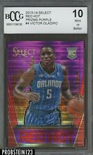 2013-14 Select Red Hot Purple Prizm #4 Victor Oladipo Pacers RC /99 BCCG 10