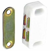 Magnetic Catch Cupboard Door Latch White Cabinet Catch Magnet Strong  1 to 12
