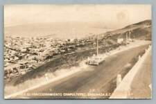 Fraccionamiento Chapultepec ENSENADA Baja California RPPC Vintage Photo 1940s