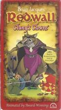 VHS:  BRIAN JACQUES' REDWALL CLUNY'S CLOWNS