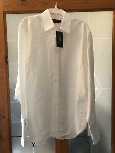 Polo Ralph Lauren Ladies Womens Dress Blouse Shirt Top (Cream) UK Size 8 - BNWT