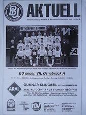 Programm 2003/04 Barmbek Uhlenhorst - VfL Osnabrück Am.