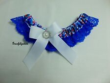 Small Stitch Bridal Wedding Garter. Lilo and Stitch